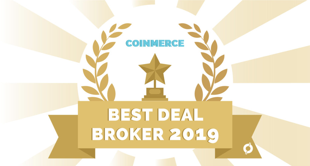 Golden sunshine beams for best deal broker 2019 on CoinCompare