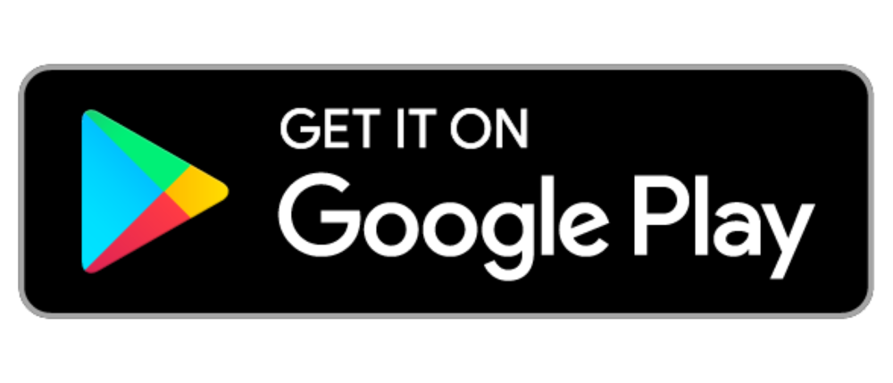 Black banner with Google Play logo for Google Play store