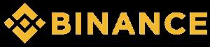 Binance beurs oranje banner en logo - CoinCompare