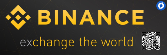 Binance banner with CoinCompare referral promo code