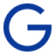 Blue G als currency symbol as Gulden (NLG) coin logo - CoinCompare