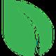 Green leaf as Peercoin (PPC) coin logo - CoinCompare NL