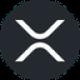 Zwarte circkel met een witte onderbroken X als XRP (XRP) coin logo - CoinCompare