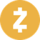 Dark orange circle with a white currency Z symbol as Zcash (ZEC) coin logo - CoinCompare